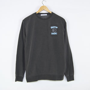 Quartersnacks - Ball Is Life Crewneck Sweatshirt - Washed Charcoal