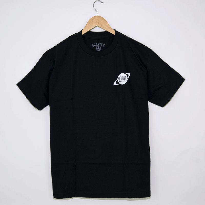 Quartersnacks - Galaxy T-Shirt - Black