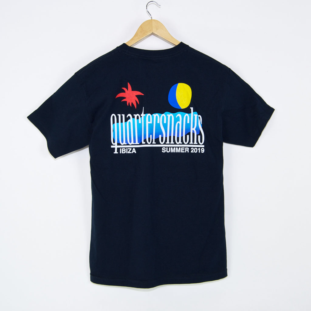 Quartersnacks - Summer 2019 T-Shirt - Navy
