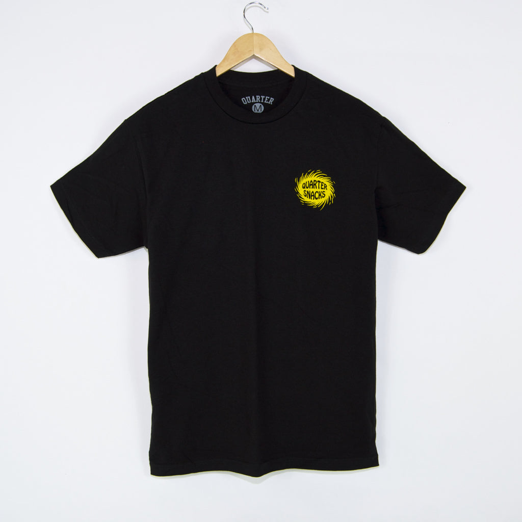 Quartersnacks - Surf Shop T-Shirt - Black