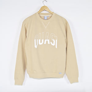 Quasi Skateboards - Arc Crewneck Sweatshirt - Oatmeal