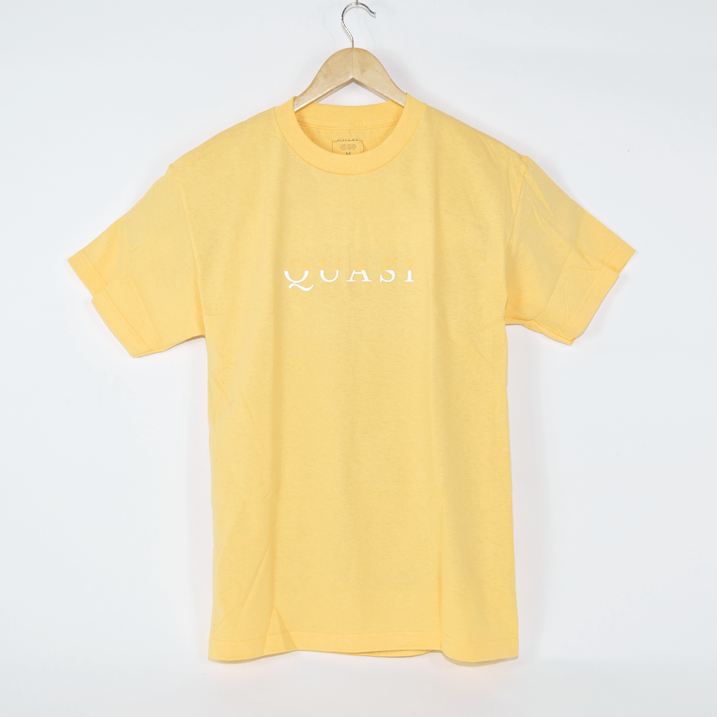Quasi Skateboards - Wordmark T-Shirt - Squash