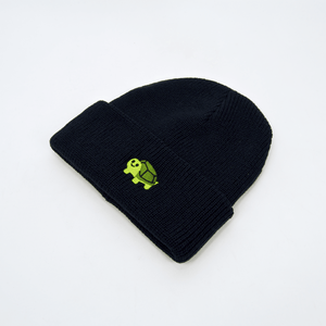 RWTB - Vertical Turtle Beanie - Navy