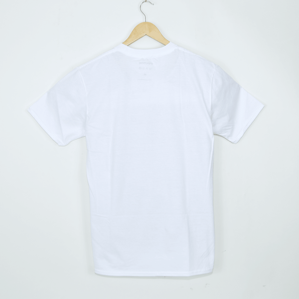 Welcome Skate Store - Racing T-Shirt - White