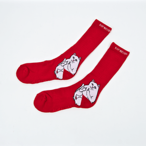 Rip N Dip - Lord Nermal Socks - Red