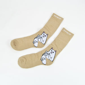 Rip N Dip - Lord Nermal Socks - Tan