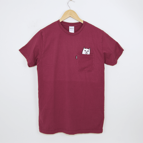 Rip N Dip - Lord Nermal T-Shirt - Burgundy