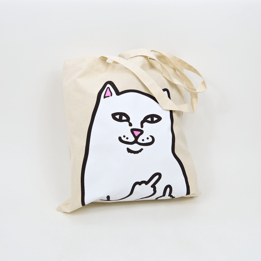 Rip N Dip - Lord Nermal Tote Bag - Natural