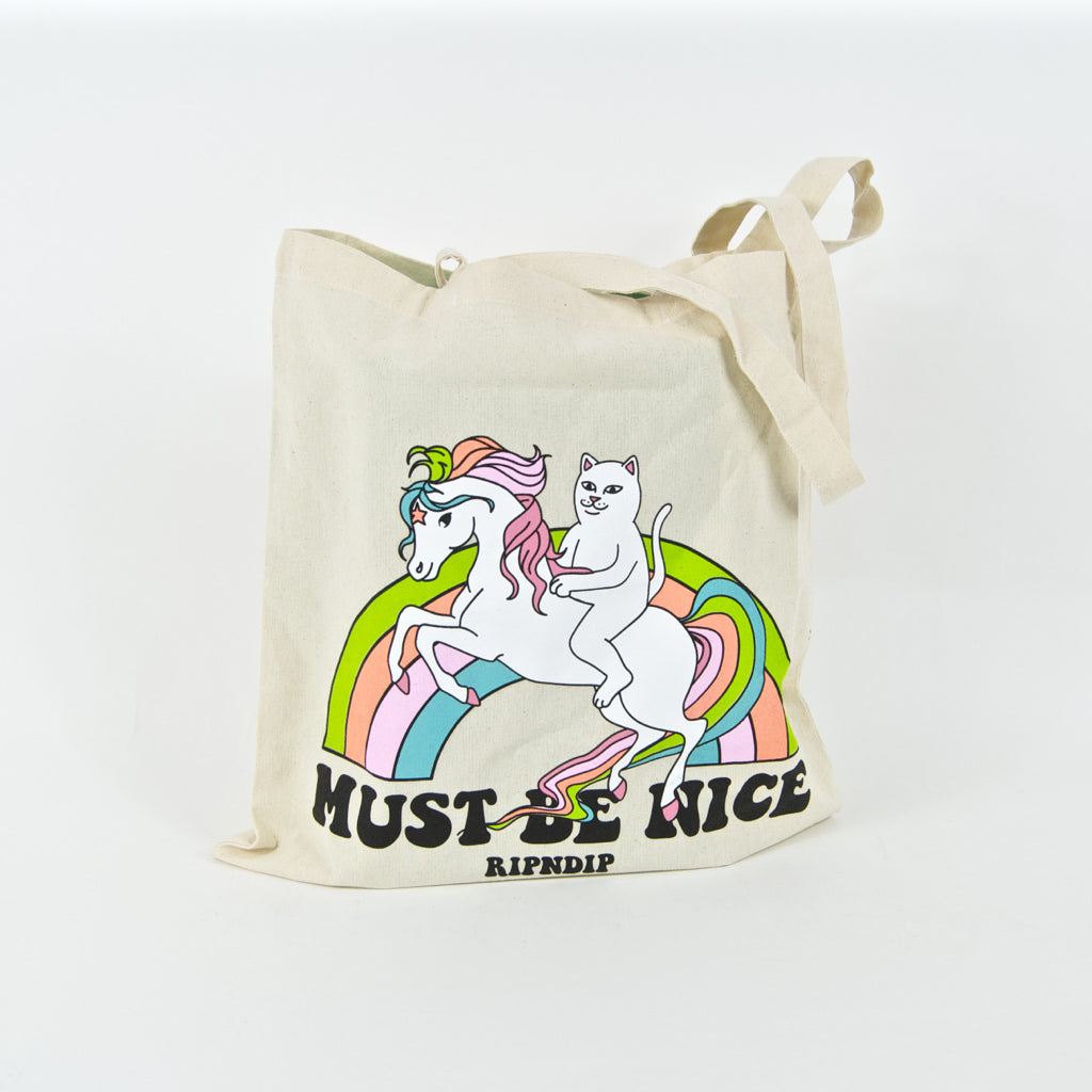 Rip N Dip - My Little Nerm Tote Bag - Natural
