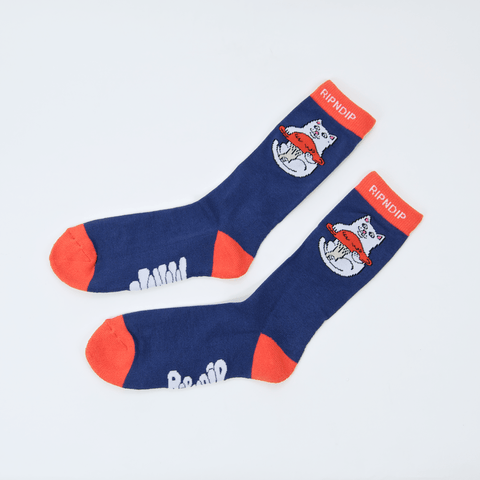 Rip N Dip - Nermshroom Socks - Navy