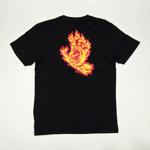 Santa Cruz - Flame Hand T-Shirt - Black