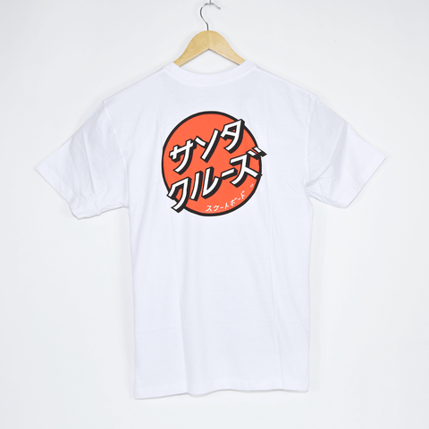 Santa Cruz - Japanese Dot T-Shirt - White