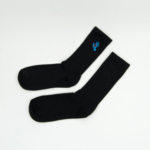 Santa Cruz - Mini Screaming Hand Socks - Black