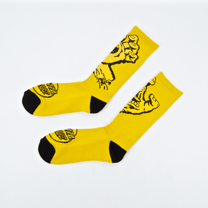 Santa Cruz - Screaming Hand Mono Socks - Gold