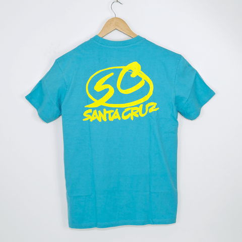 Santa Cruz Skateboards - Logo T-Shirt - Turquoise