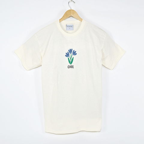 Skateboard Cafe - Blues T-Shirt - Cream