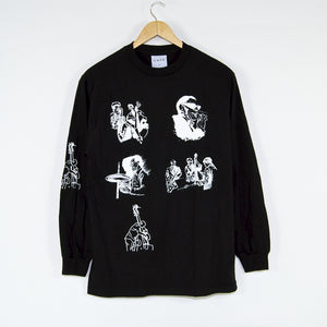 Skateboard Cafe - Jazz Sketch Longsleeve T-Shirt - Black