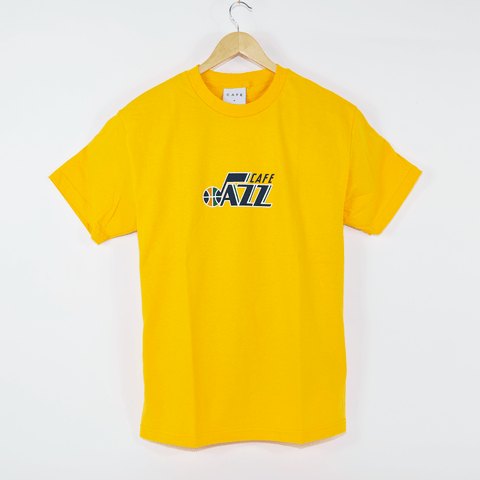 Skateboard Cafe - Jazz T-Shirt - Gold