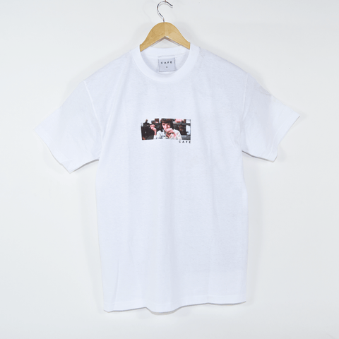 Skateboard Cafe - Milkshake T-Shirt - White