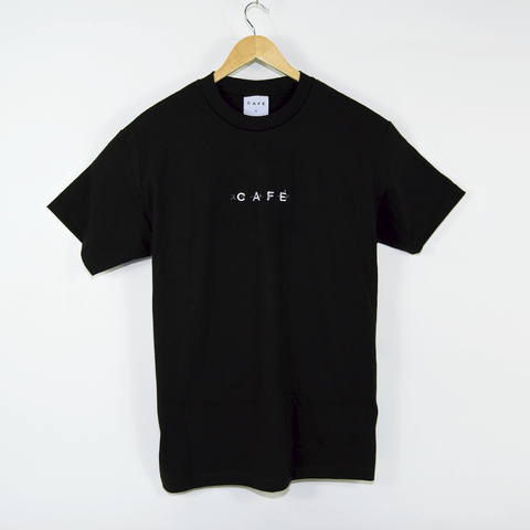 Skateboard Cafe - OBI Embroidered T-Shirt - Black