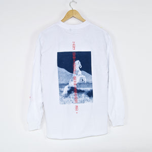 The National Skateboard Co. - Buck Longsleeve T-Shirt - White