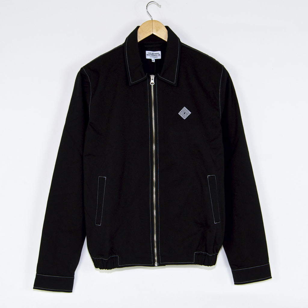The National Skateboard Co. - Harrington Jacket - Black