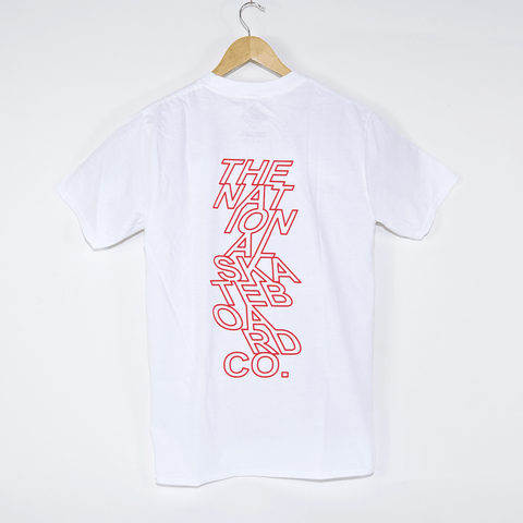 The National Skateboard Co. - Move T-Shirt - White