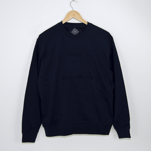 The National Skateboard Co. - Redacted Crewneck Sweatshirt - Navy