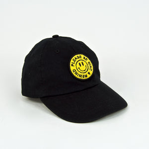 The National Skateboard Co. - Rewind 6 Panel Cap - Black