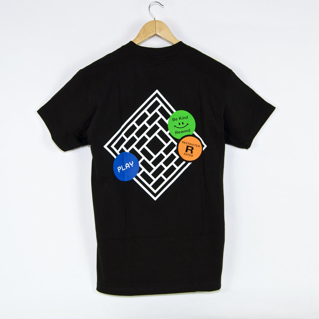 The National Skateboard Co. - Tapes T-Shirt - Black