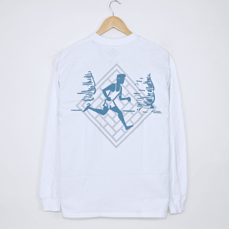 The National Skateboard Co. - Action Longsleeve T-Shirt - White