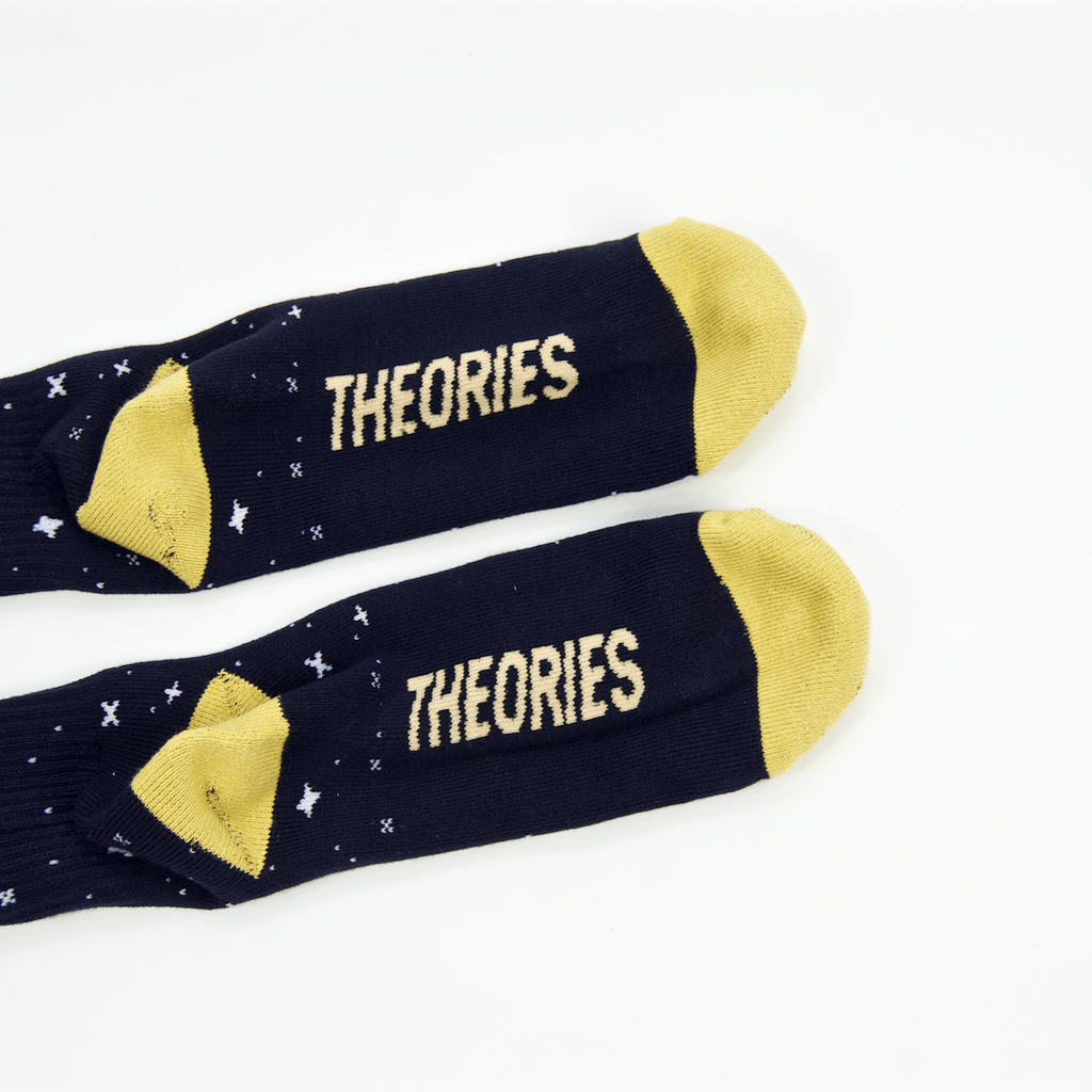 Theories Of Atlantis - Abduction Socks - Navy
