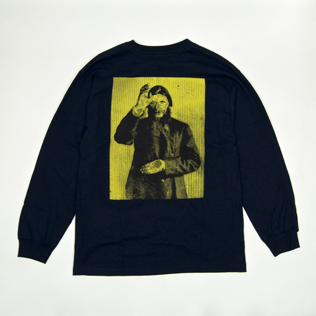 Theories Of Atlantis - Rasputin Longsleeve T-Shirt - Navy