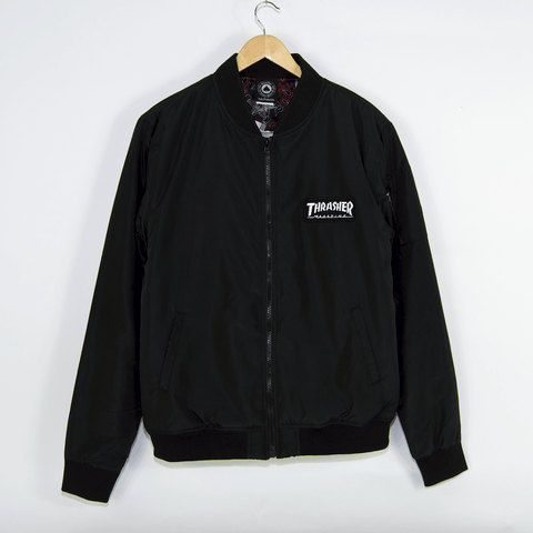 Thrasher - Bomber Jacket - Black