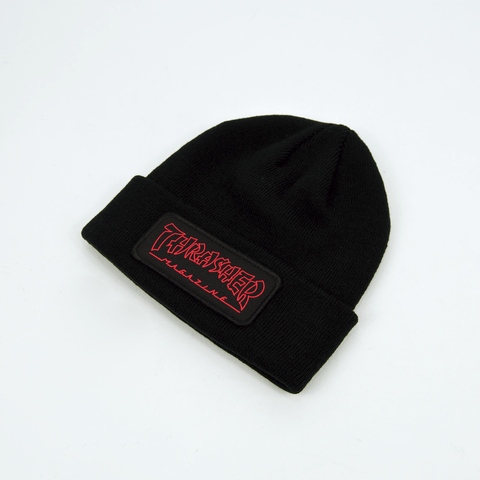 Thrasher - China Banks Patch Beanie - Black