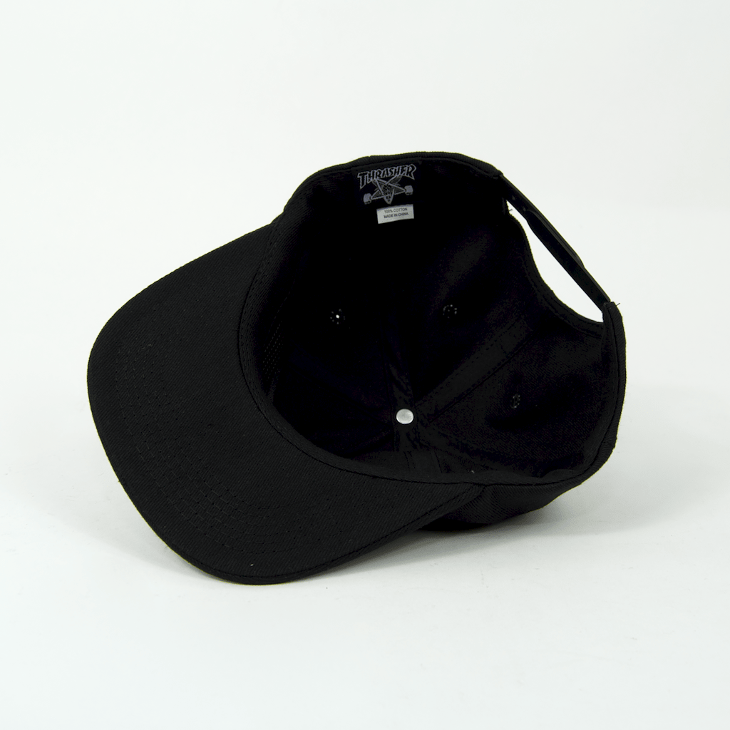 Thrasher - China Banks Snapback Cap - Black