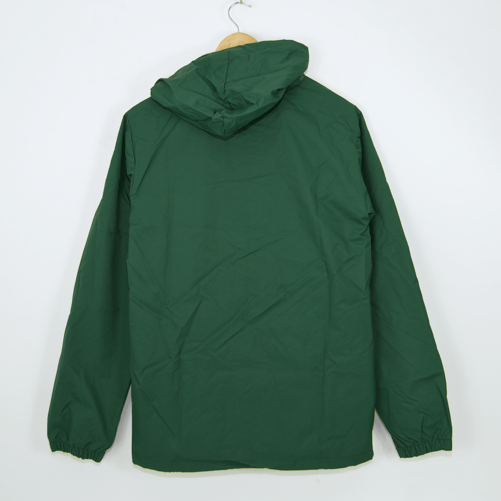 Thrasher - Flame Logo Coach Jacket - Forest Green
