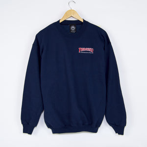 Thrasher - Outlined Crewneck Sweatshirt - Navy