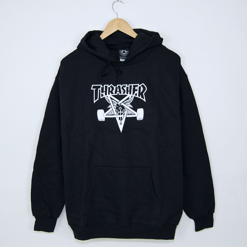 Thrasher - Skategoat Pullover Hooded Sweatshirt - Black