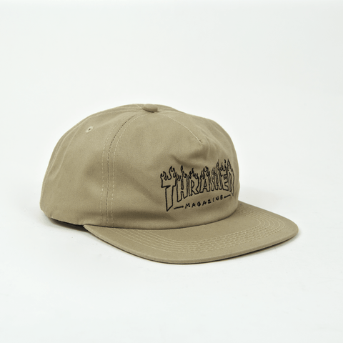 Thrasher - Witch Snapback Cap - Tan