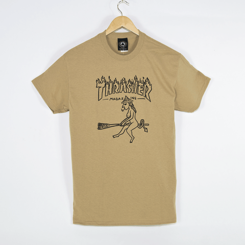 Thrasher - Witch T-Shirt - Tan
