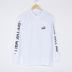 Vans - Anti Hero On The Wire Longsleeve T-Shirt - White