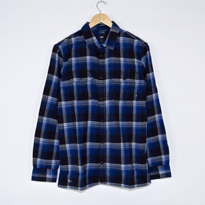 Vans - Anti Hero Wired Flannel Shirt - True Blue / Black