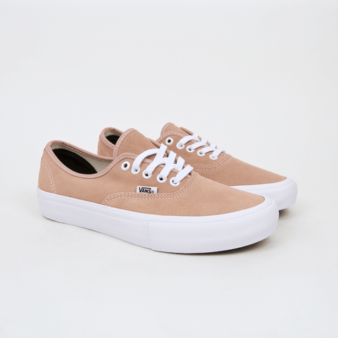 Vans - Authentic Pro Shoes - Mahogany Rose / White