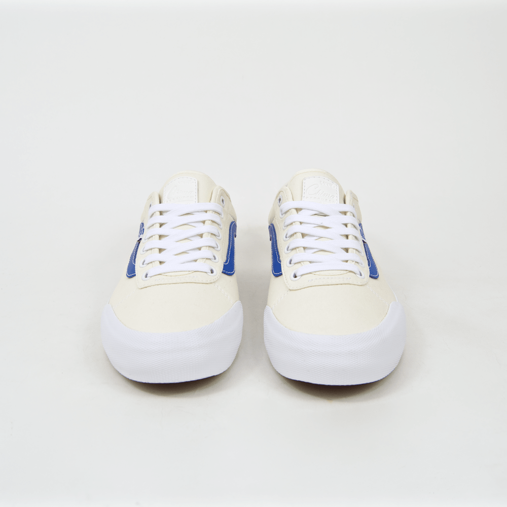51d00680d58a4f ... Vans - Chima Ferguson Pro 2 Shoes (Center Court) - White   Victoria  Blue ...