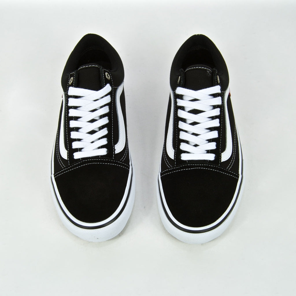 Vans - Old Skool Pro Shoes - Black / White