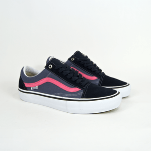 Vans - Old Skool Pro Shoes - Sky Captain / Pink