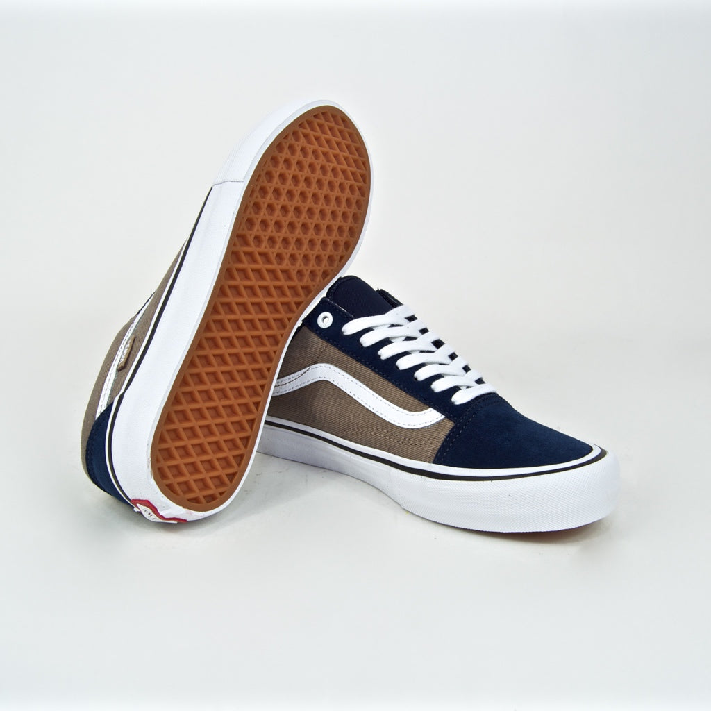shoes Vans Old Skool Pro TwillDress BluesPortabella