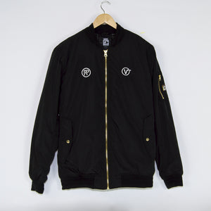 Vans - Pass Port Skateboards Bomber Jacket - Black