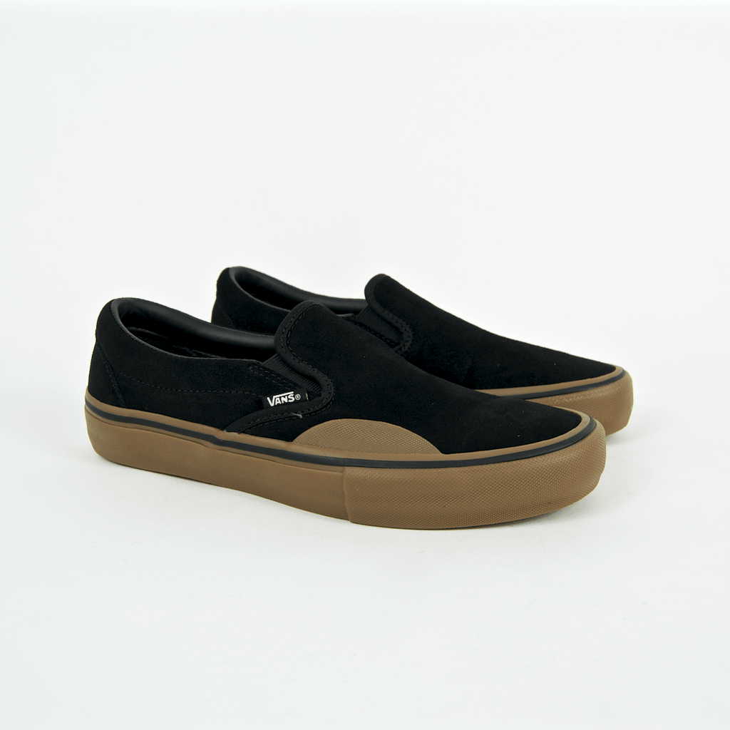 b484f54102 ... Vans - Slip-On Pro Shoes - Black   Gum ...